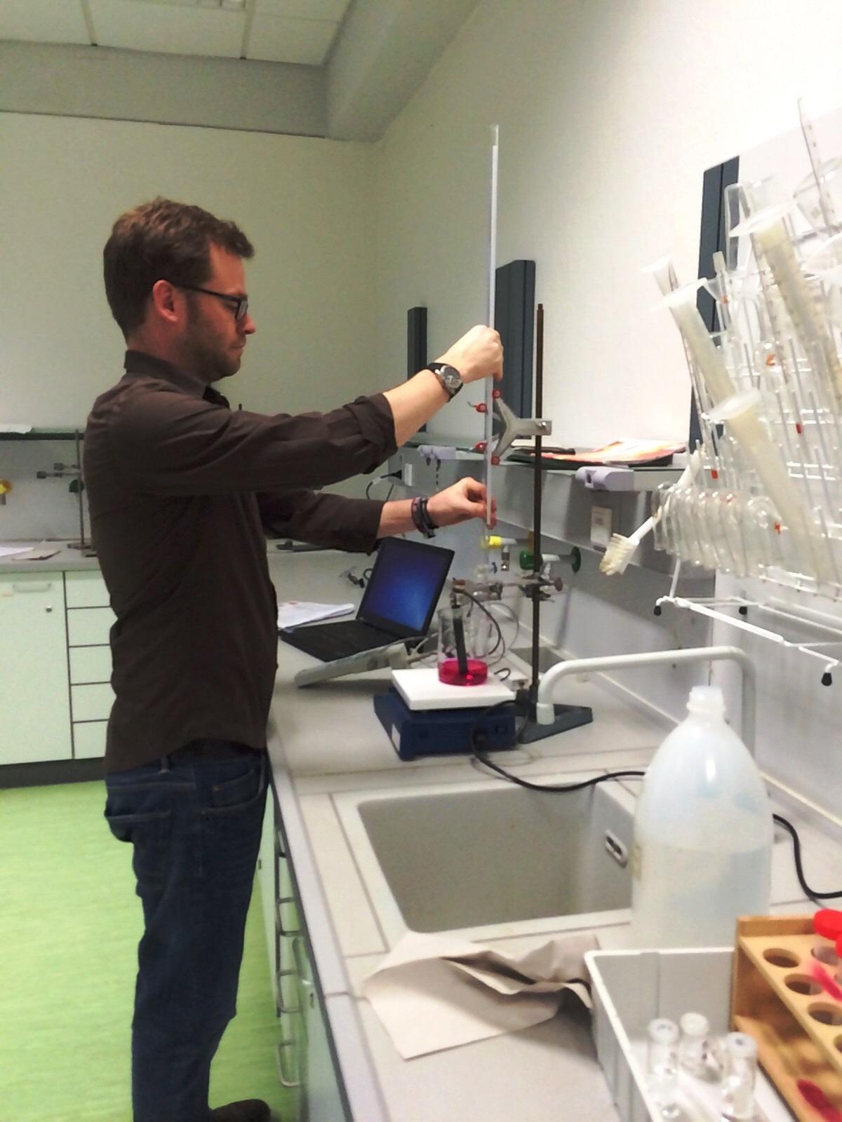 Gaschromatographie - Chemie