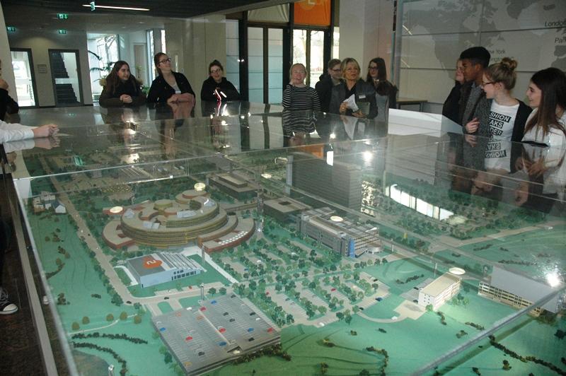 Modell des Lerchenberges