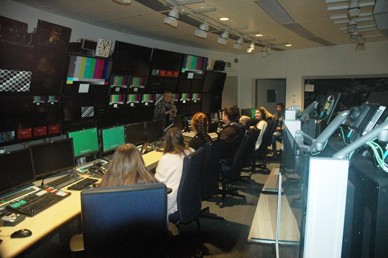 Zentrale für Sportübertragungen